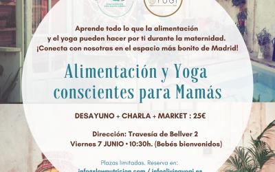 Evento: «Alimentación y Yoga conscientes para Mamás»