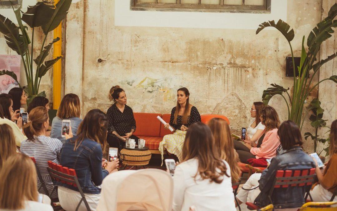 """Así fue el evento: """"Alimentación y Yoga conscientes para Mamás"""" en Nave Maria, Madrid"""